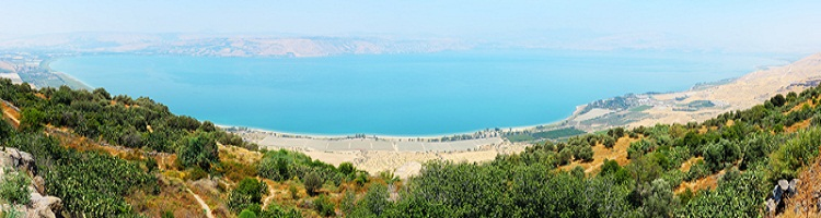 Sea of Galilee - Lake Kineret